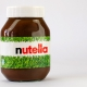 Etikettendesign: Nutella / WM 2010