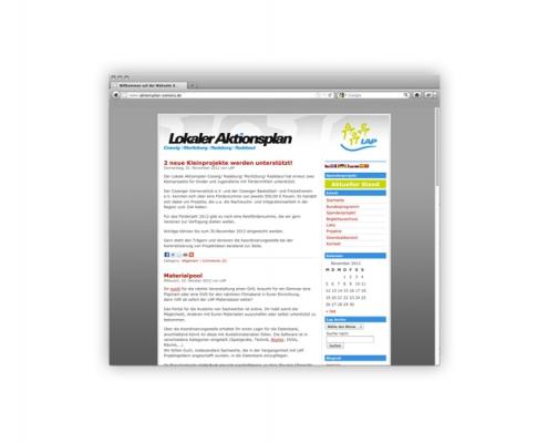 Web: Lokaler Aktionsplan