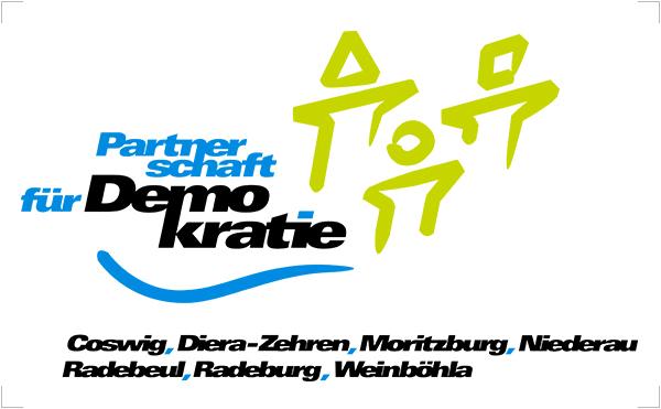 Logo: Partnerschaft für Demokratie