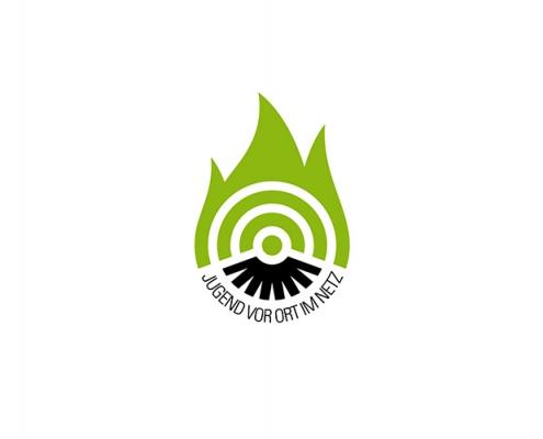 Logo: Jugend vor Ort ins Netz