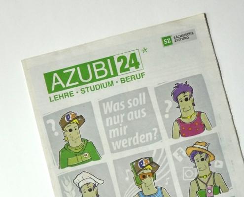 Titelblattgestaltung - SZ Jobs