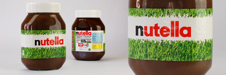Etikettendesign: Nutella / WM 2010